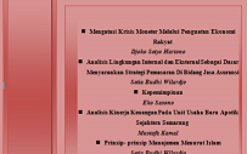 JURNAL VALUE ADDED