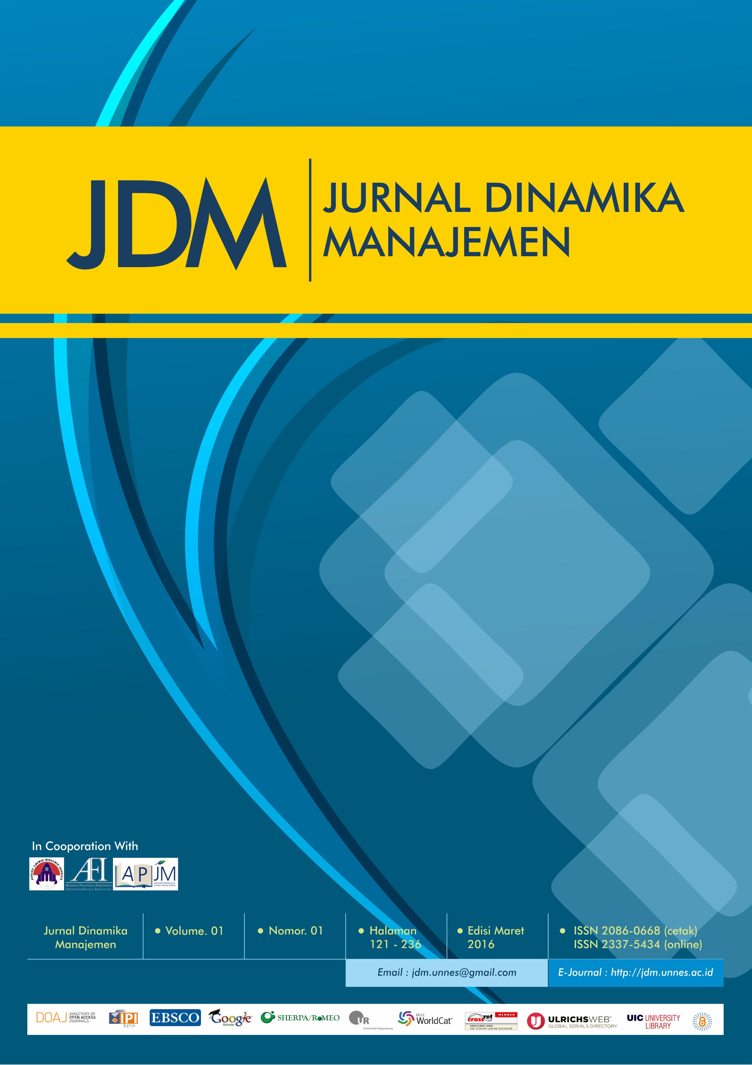 Hasil gambar untuk jurnal dinamika manajemen