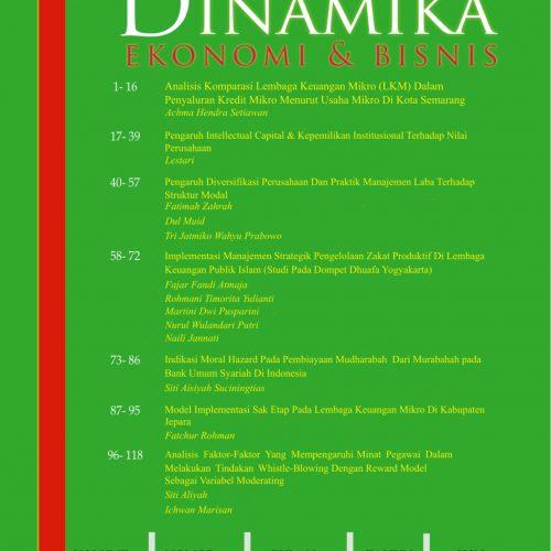 Jurnal Dinamika Ekonomi dan Bisnis (JDEB)