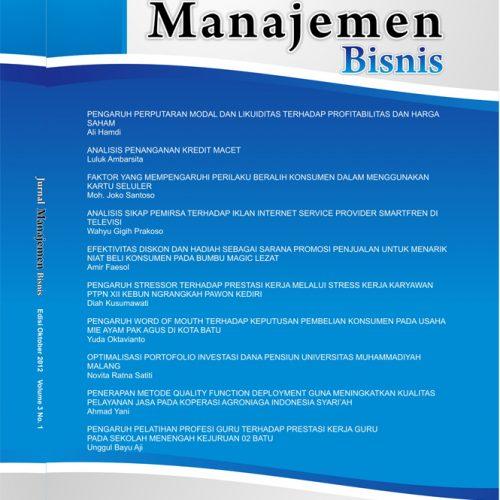 Jurnal Manajemen Bisnis