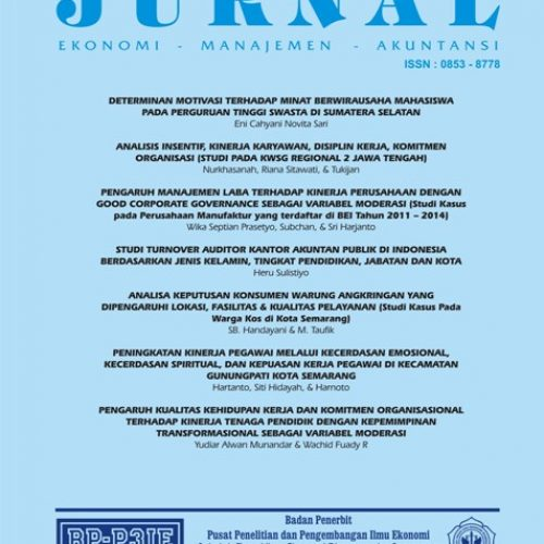 Jurnal Ekonomi Manajemen Akuntansi (EMA)