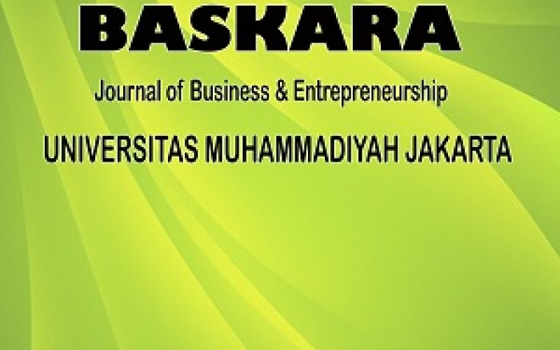 BASKARA : JOURNAL OF BUSINESS AND ENTREPRENEURSHIP