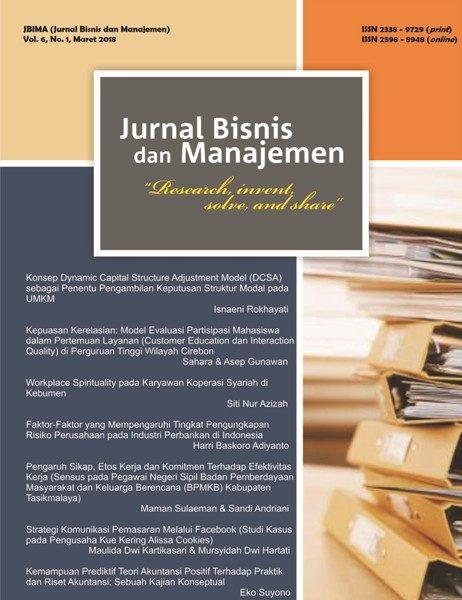Jurnal Bisnis dan Manajemen (JBIMA)