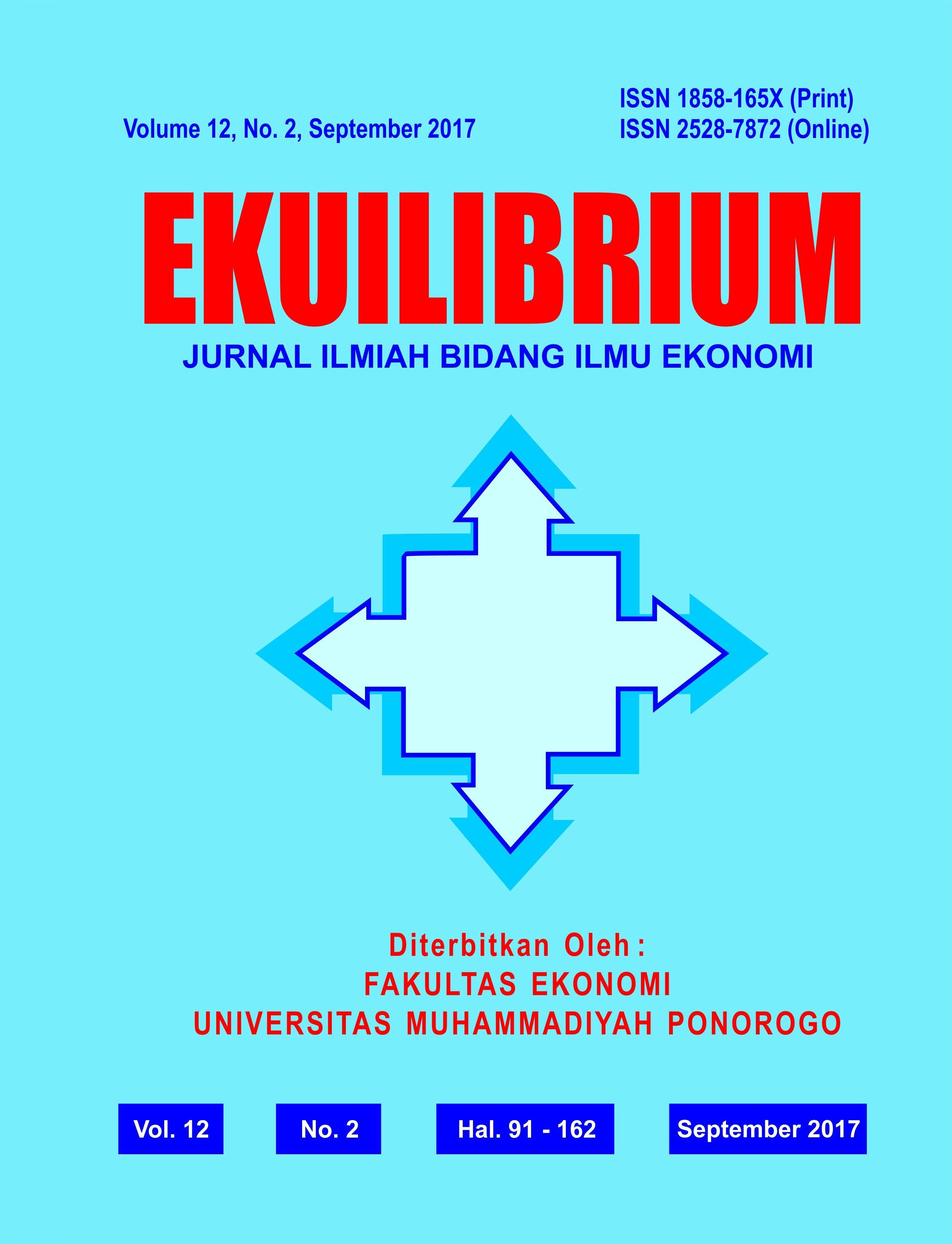 JURNAL EKUILIBRIUM: JURNAL ILMIAH  ILMU EKONOMI